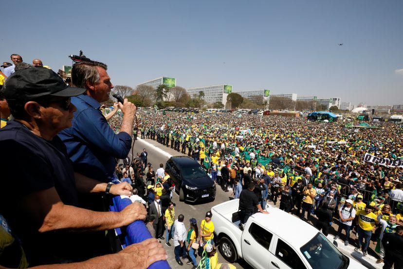"""""""En Brasil no hay un golpe  porque no es necesario"""""""